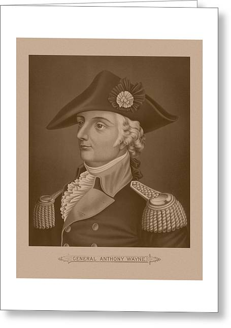 Mad Anthony Wayne Greeting Card by War Is Hell Store