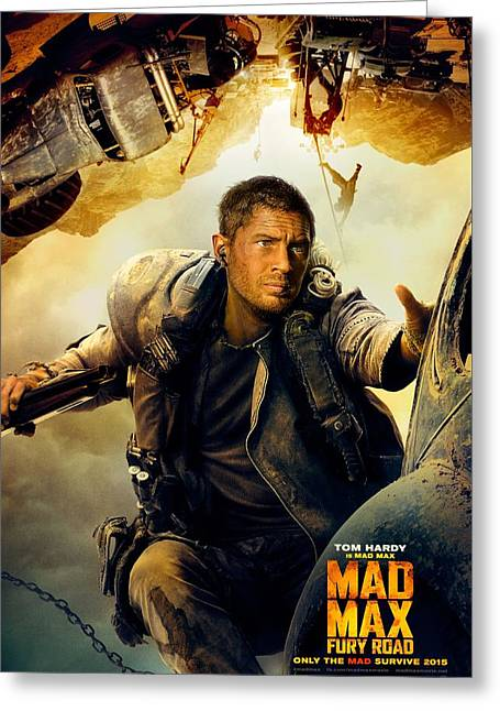 Mad Max Greeting Card by Unknown