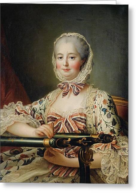 Madame Pompadour Portrait Greeting Card