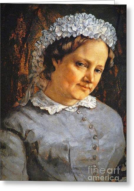 Madame Proudhon Greeting Card by MotionAge Designs