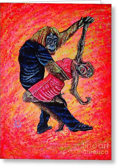 Madame... Greeting Card by Viktor Lazarev