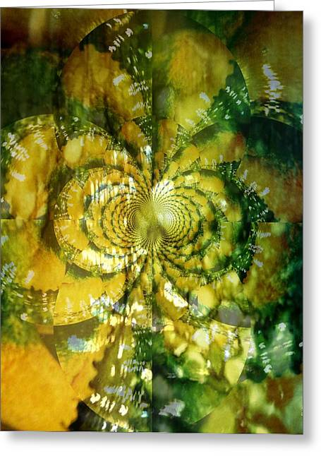 Made For Your Wall Greeting Card by Fania Simon