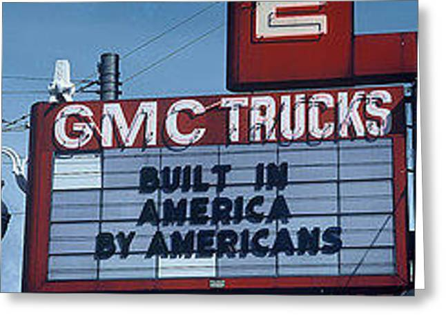 Made In America- The Signs Of The Times Collection Greeting Card by The Signs of the Times Collection