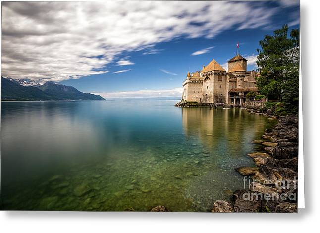 Made In Switzerland Greeting Card by Giuseppe Torre