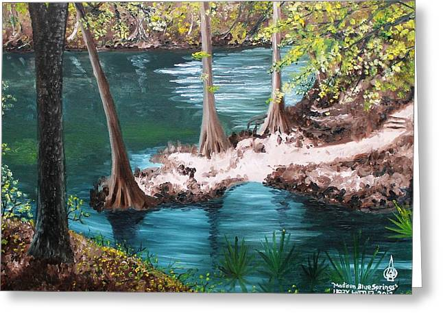 Madison Blue Springs Greeting Card