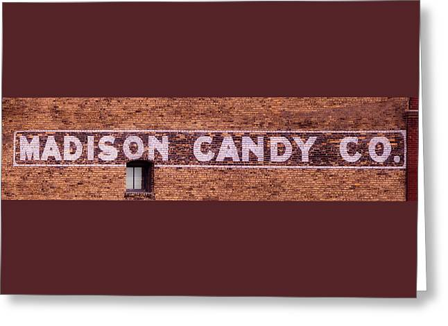 Madison Candy Co. Sign- Madison, Wi Greeting Card by Steven Ralser