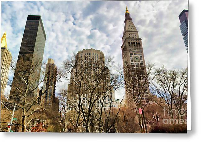 Madison Square Architecture  Greeting Card