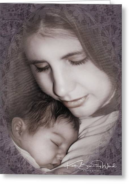 Madonna And Child 3 Greeting Card