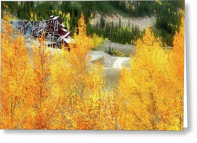 Madonna Mine - Monarch Pass - Colorado Greeting Card by Jason Politte
