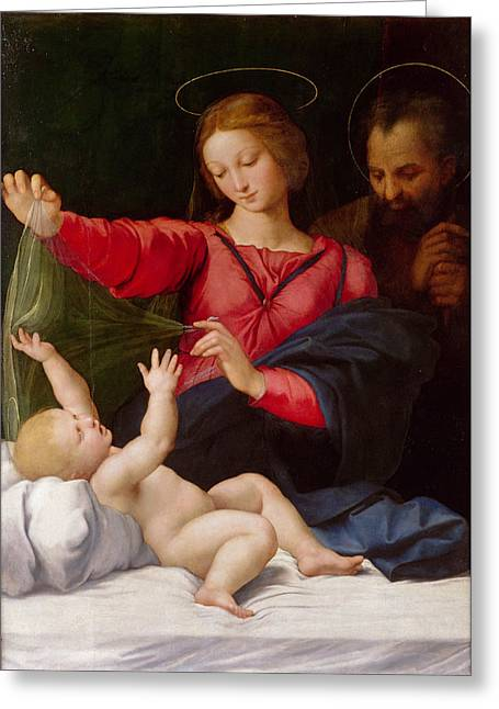 Madonna Of Loreto Greeting Card