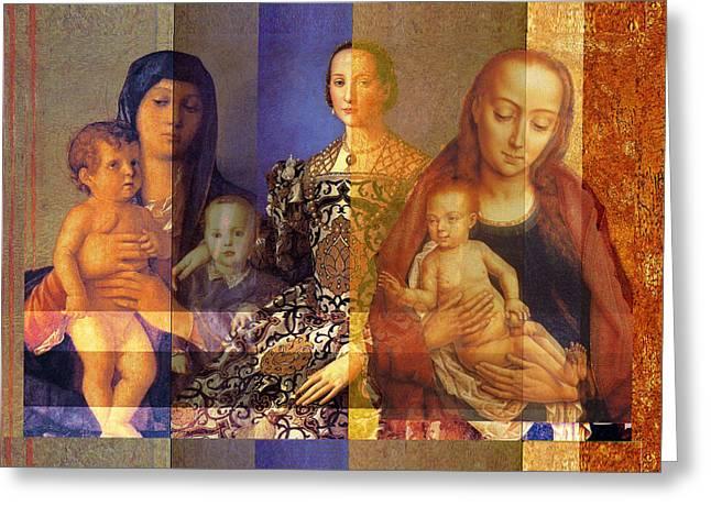 Madonnas  Greeting Card by John Vincent Palozzi