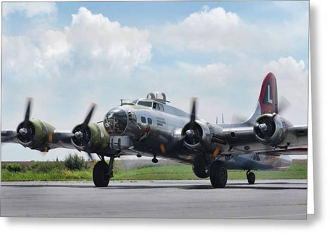 Madras Maiden B-17 Greeting Card
