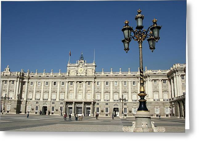 Madrid Greeting Card by Eye Contact