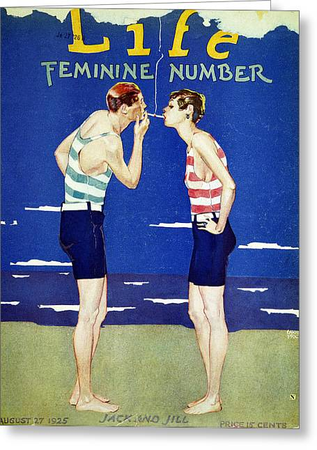 Magazine Cover, 1925 Greeting Card by Granger