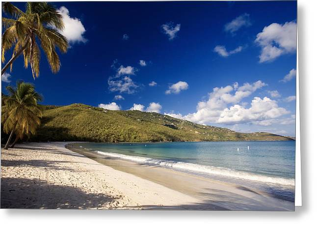 Magens Bay Morning St Thomas Us Virgin Islands Greeting Card