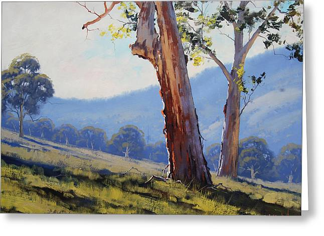 Magestic Gum Tumut Greeting Card