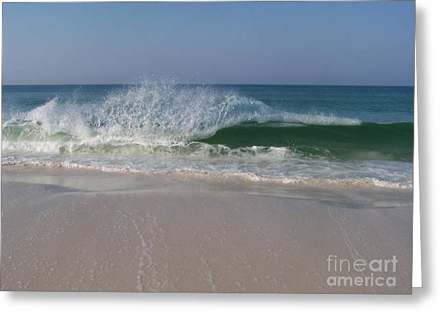 Magestic Wave Greeting Card