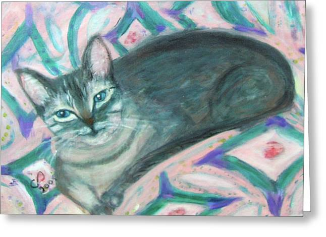 Carolyn Donnell Greeting Cards - Maggie Greeting Card by Carolyn Donnell