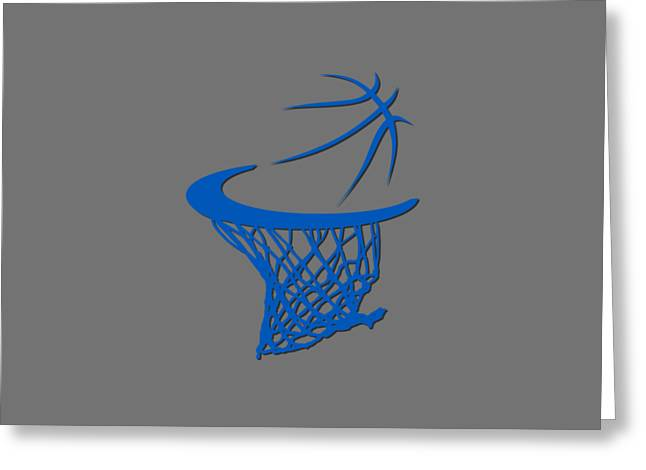 Magic Basketball Hoop Greeting Card by Joe Hamilton