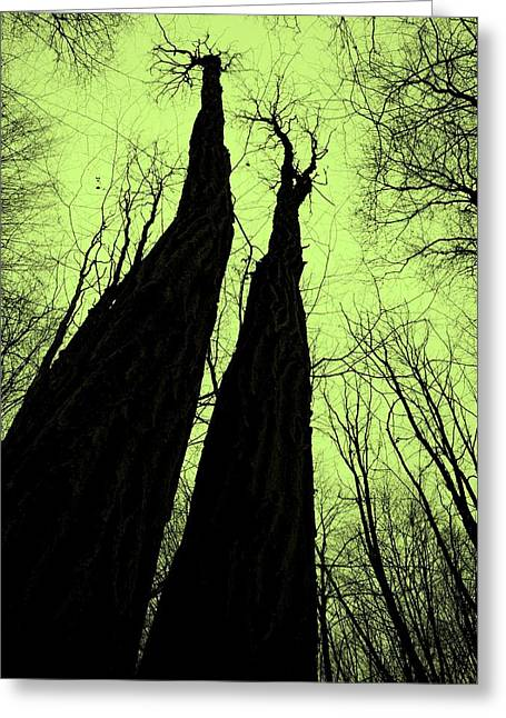 Magic Forest_2 Greeting Card by Ines nanda Drole
