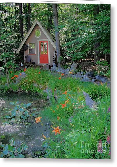 Greeting Card featuring the photograph Magic Garden by Susan Carella
