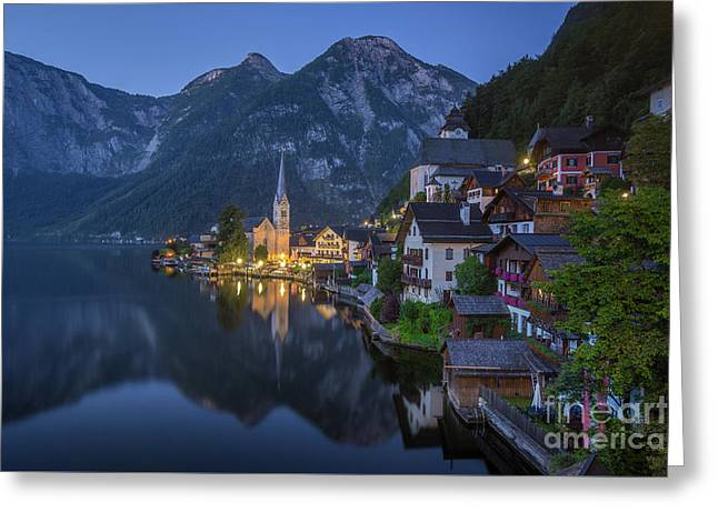 Magic Hallstatt Greeting Card
