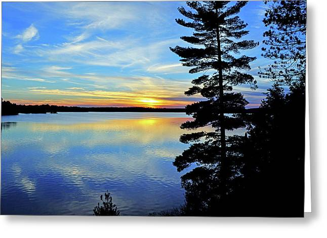 Magic Hour Greeting Card by Keith Armstrong
