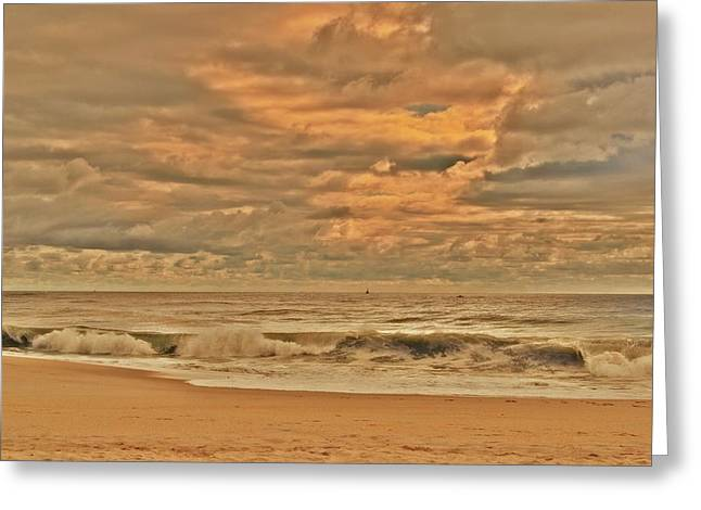 Magic In The Air - Jersey Shore Greeting Card