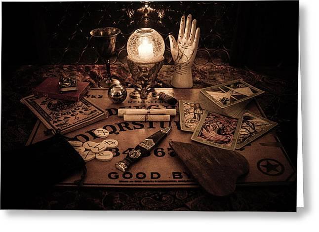 Magic Greeting Card by Kristy Creighton