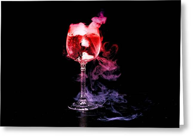 Magic Potion Greeting Card by Alexander Butler