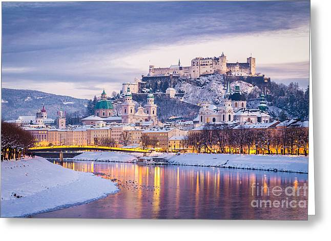 Magic Salzburg Greeting Card by SW Images