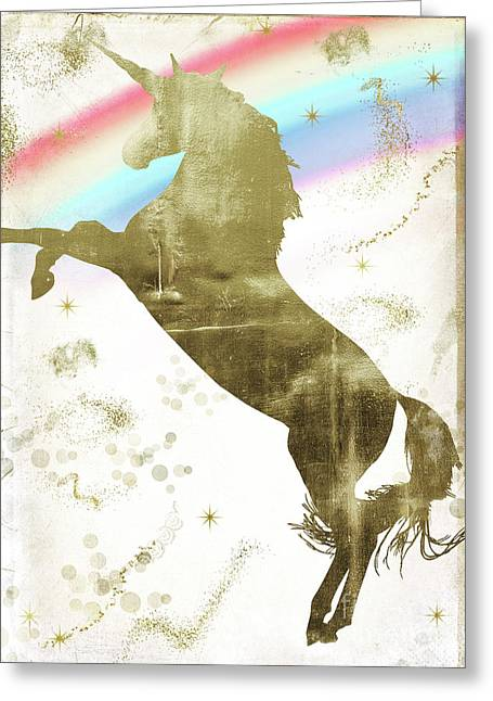 Magic Unicorn I Greeting Card