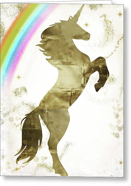 Magic Unicorn II Greeting Card