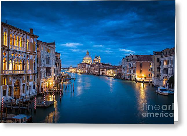 Magic Venice Greeting Card by JR Photography
