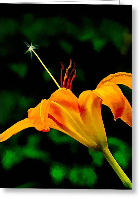 Magic Wand 2 Greeting Card by Michael Taggart II