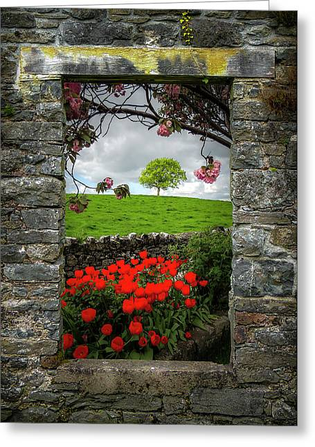 Greeting Card featuring the photograph Magical County Clare Countryside by James Truett