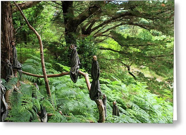 Magical Forest Greeting Card by Aidan Moran