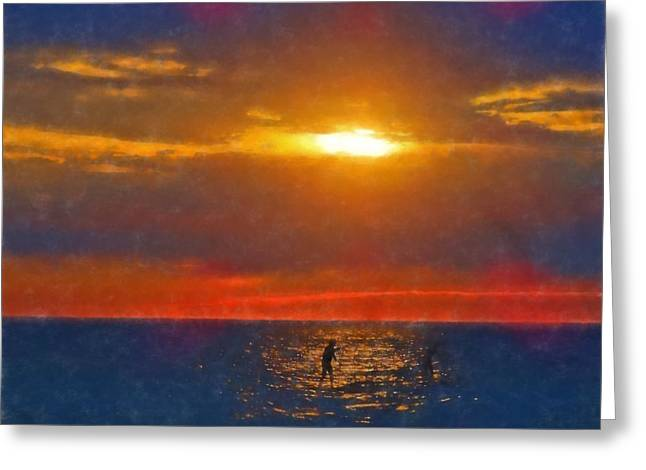 Magical Moment Greeting Card by Dan Sproul