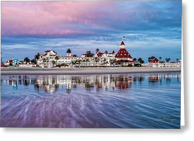 Greeting Card featuring the photograph Magical Moment Horizontal by Dan McGeorge