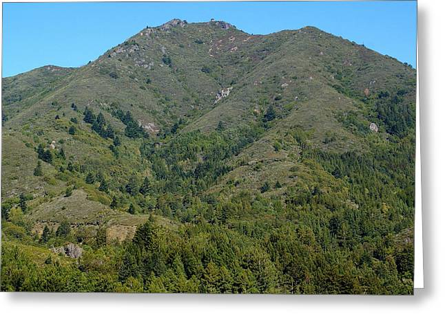 Magical Mountain Tamalpais Greeting Card by Ben Upham III
