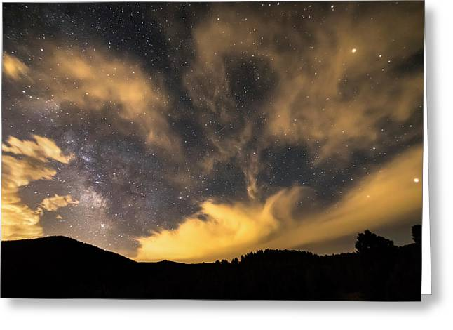 Magical Night Greeting Card by James BO Insogna