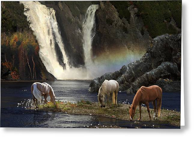 Greeting Card featuring the photograph Magical Retreat by Melinda Hughes-Berland