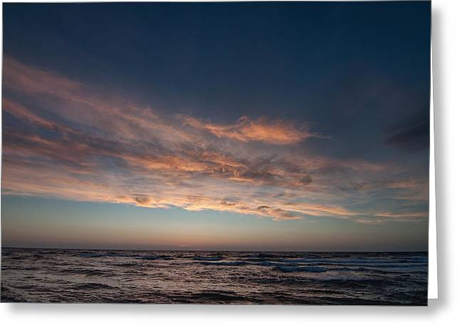 Greeting Card featuring the photograph Magical Sunset by Laura Melis