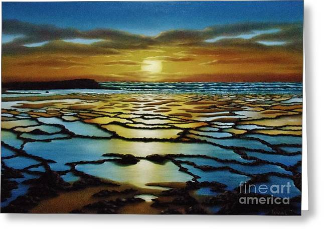 Magical Sunset Greeting Card