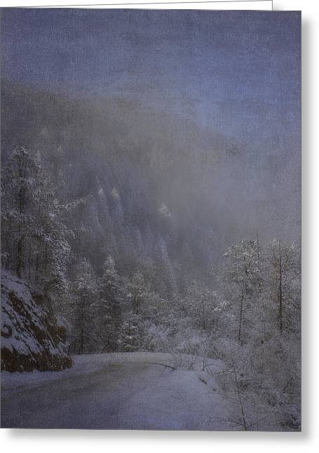 Greeting Card featuring the photograph Magical Winter Day by Ellen Heaverlo