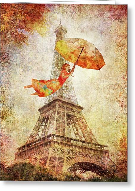 Magically Paris Greeting Card