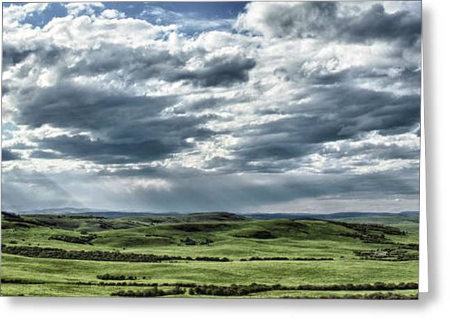 Greeting Card featuring the photograph Magnetic View by Brad Allen Fine Art