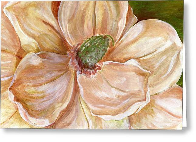 Magnificent Magnolia -1 Greeting Card