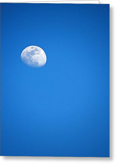 Magnificent Maui Moon Greeting Card by Elizabeth Hoskinson