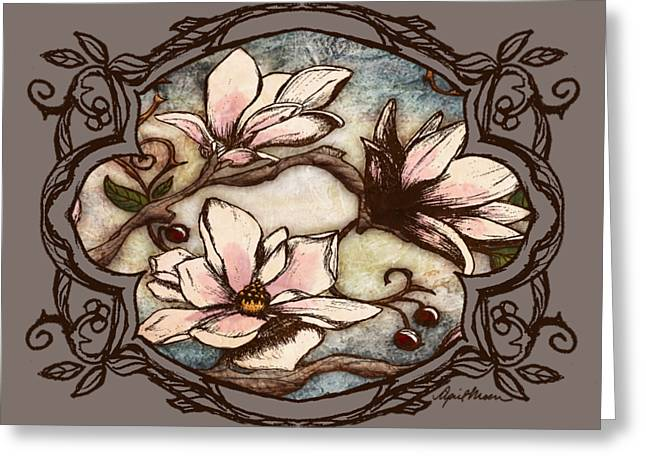 Magnolia Branch II Greeting Card